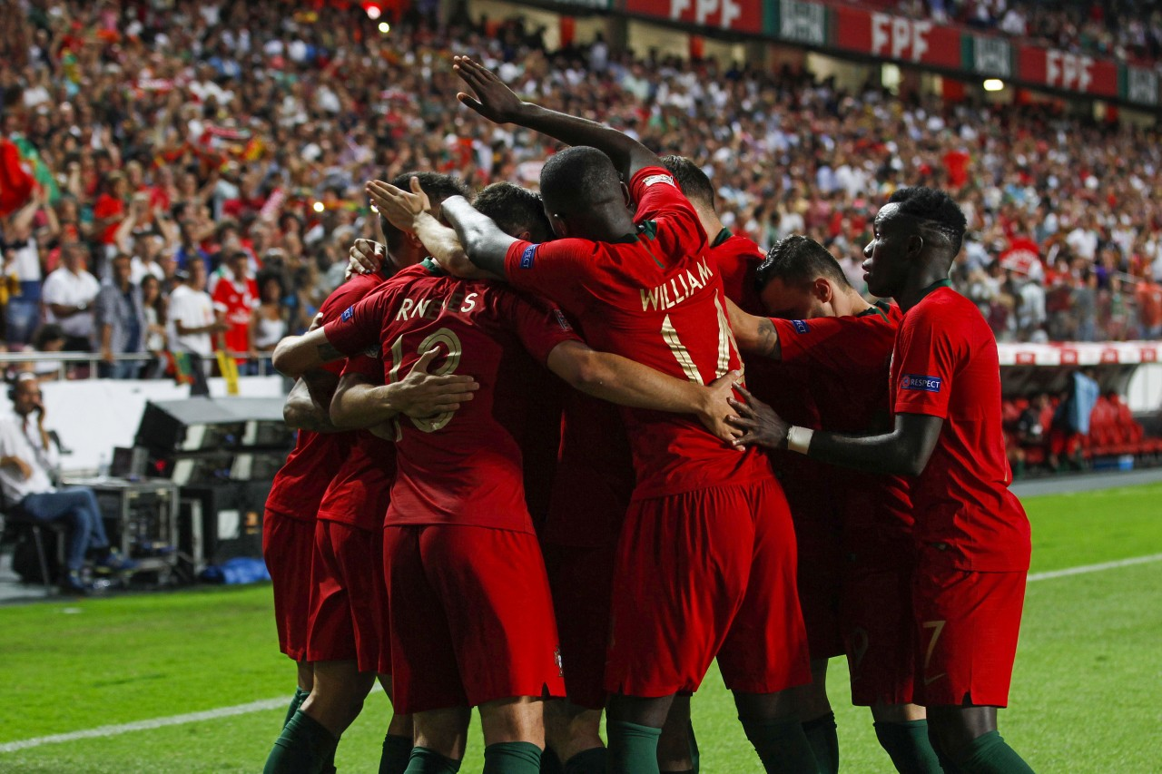 fd4788eedc1 A seleção portuguesa de futebol estreou-se da melhor forma na Liga das  Nações